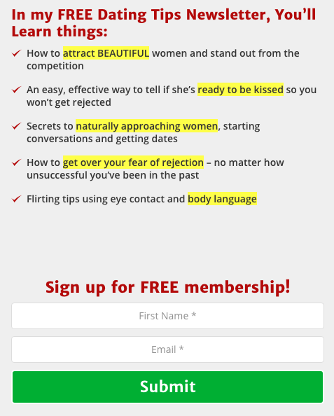 High converting Overlay Optimizer Call-to-action button downloads | Double Your Dating Call-to-action button example