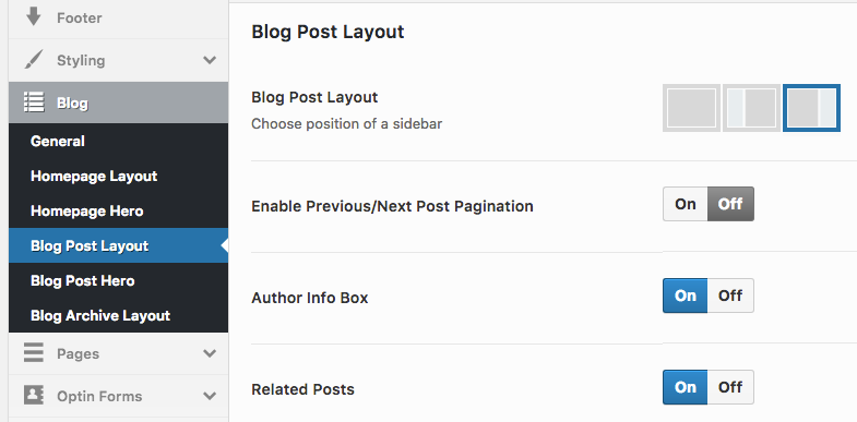 How to setup a WordPress Blog with OptimizePress | Blog Post Hero Layout
